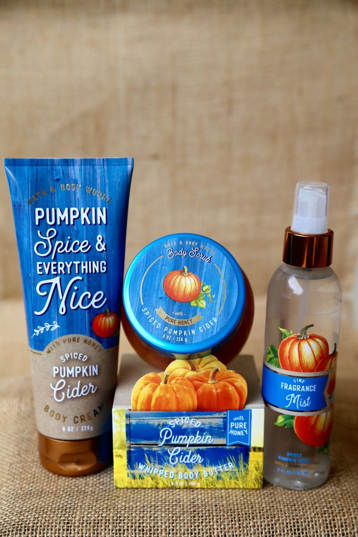Bath & Body Works New Skincare made with PURE Honey